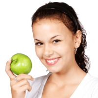 Skincare and a healthy diet